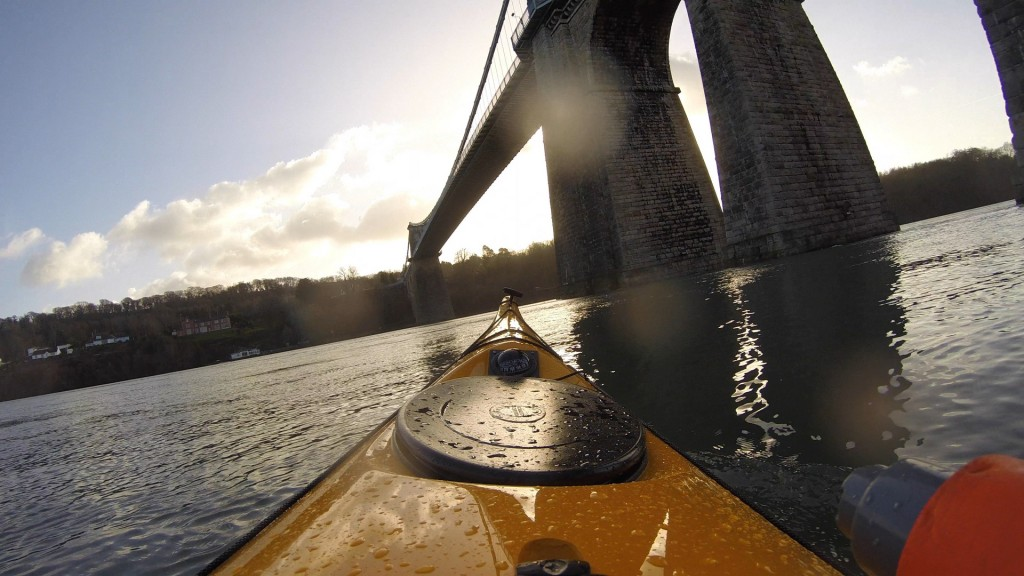 Suspension Bridges are brilliant... Designed by Thomas Telford and opened in 1826, the Menai Suspension Bridge was the first time there was a fixed connection between the mainland and Anglesey.