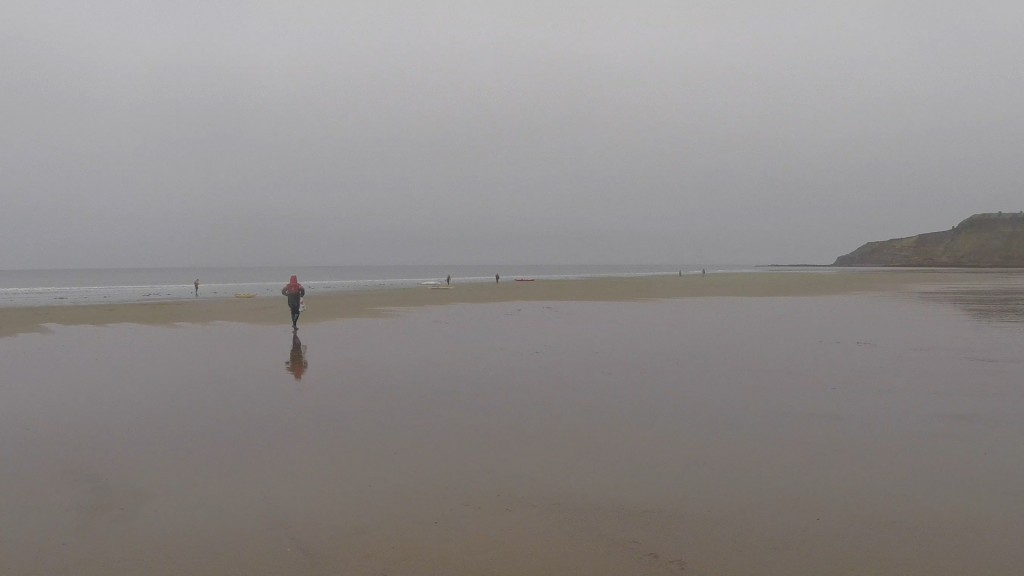 A wet Cayton bay