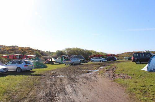 Muddy Camp Site