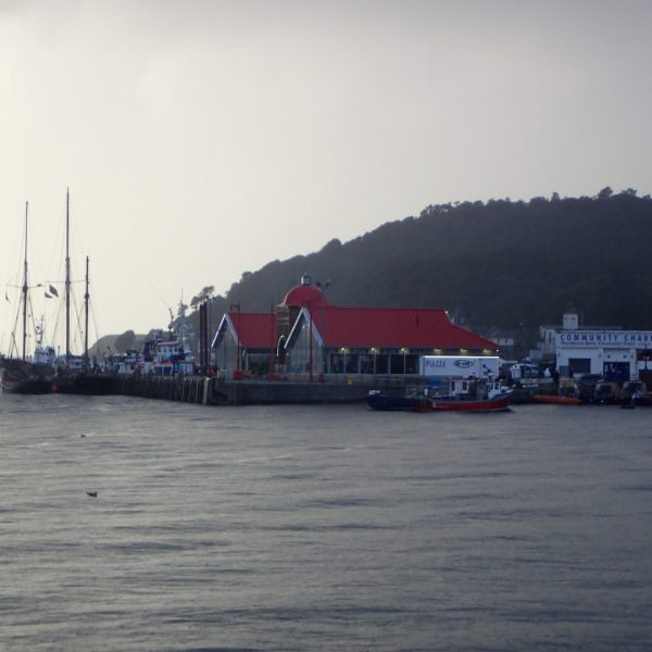 Across the harbour