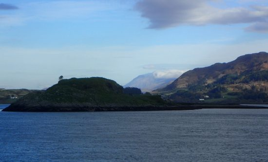Loch Linnhe towards Shuna Island and Ben Nevis