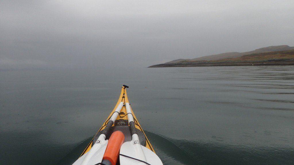 Circumnavigating Kerrera