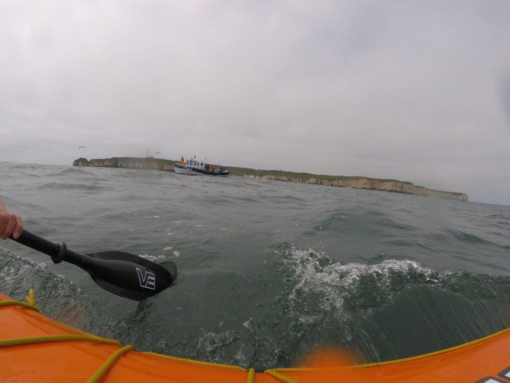 Fishing boat off Flamborough Head