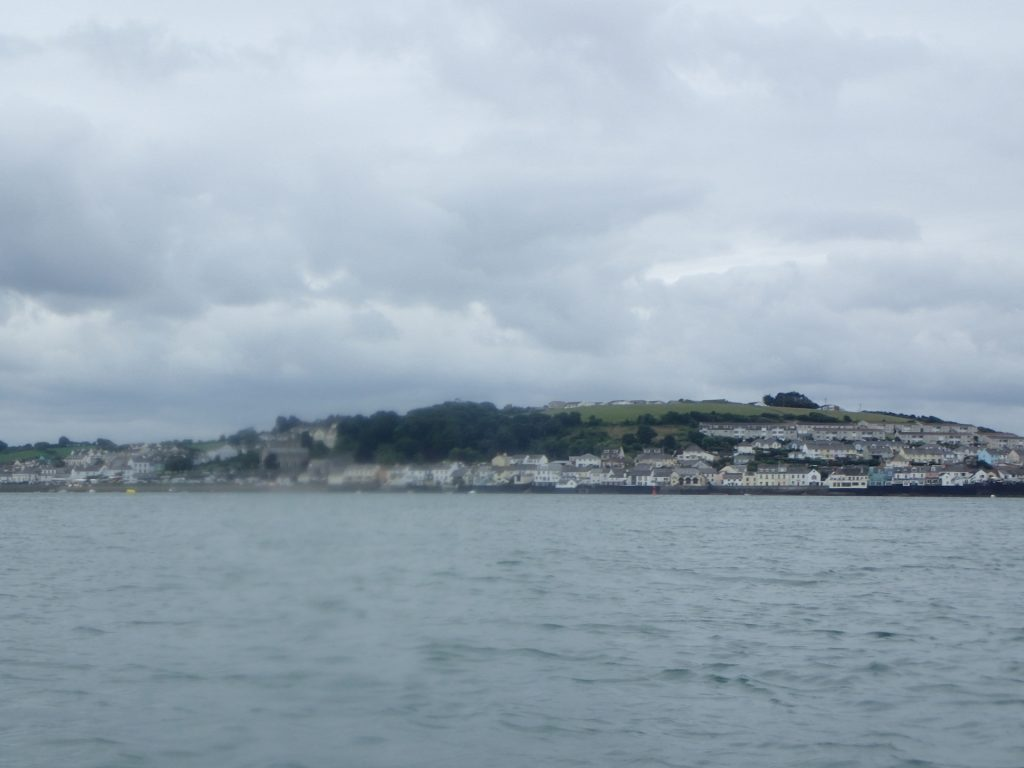 Appledore in the rain