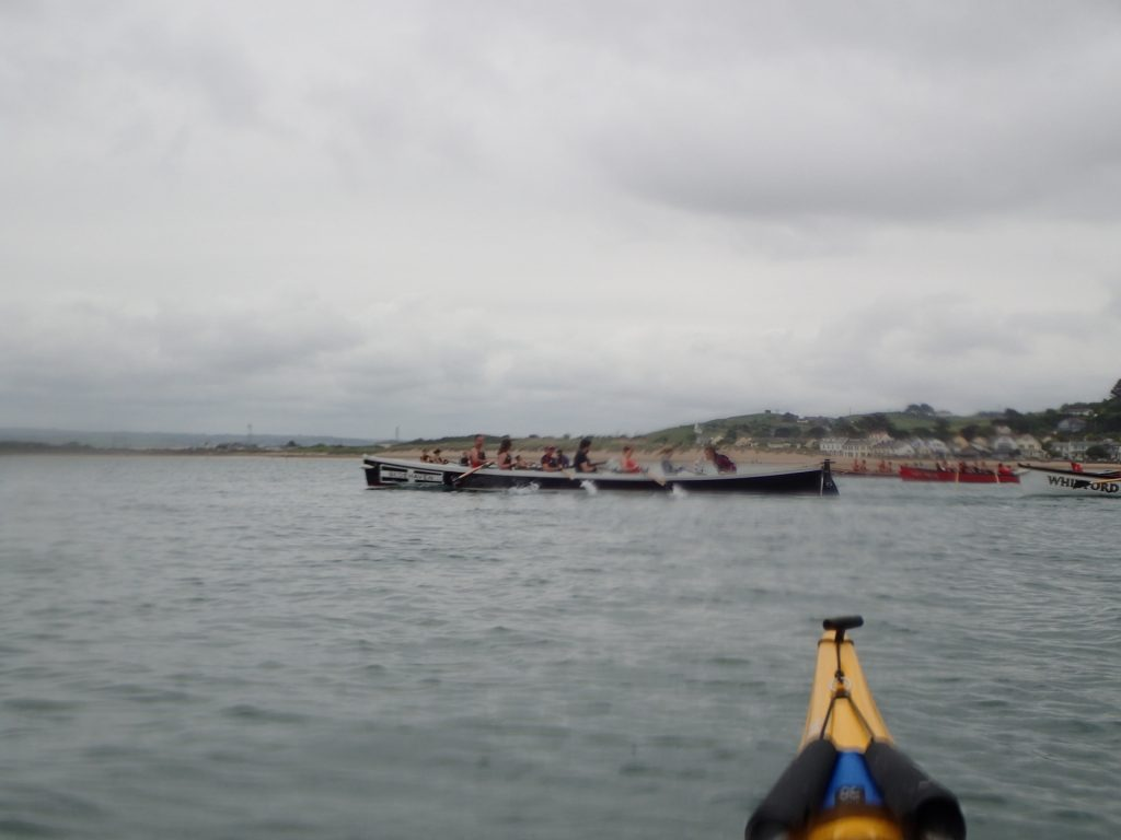 Pilot Gig Racing at Appledore