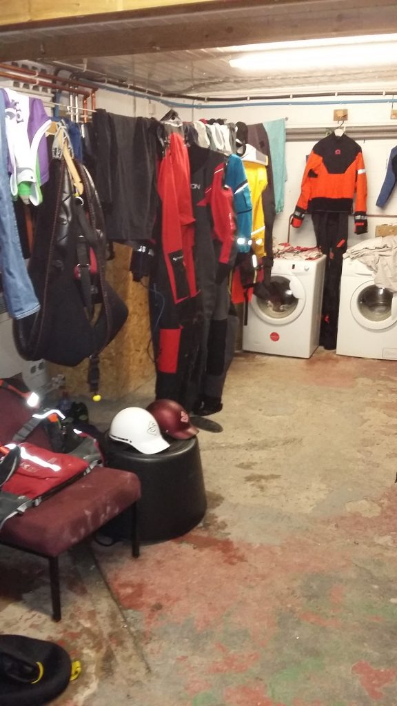 Any room for a Dry suit