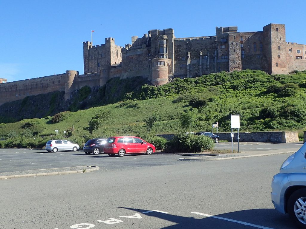 Car Park Bamburgh Castle