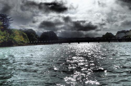 Menai Bridge Islands – camera setting to sparkle