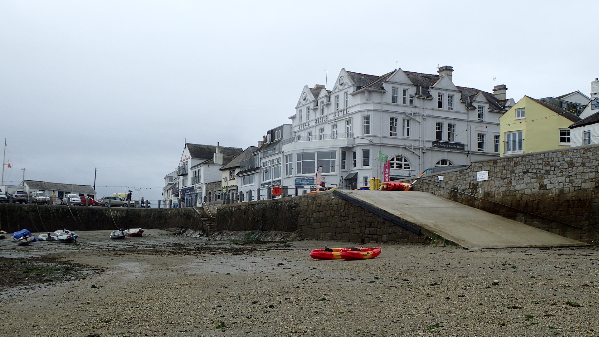 St Mawes harbour - low tide