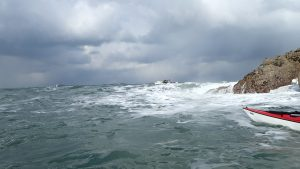 Camaes Bay - James setting up a task