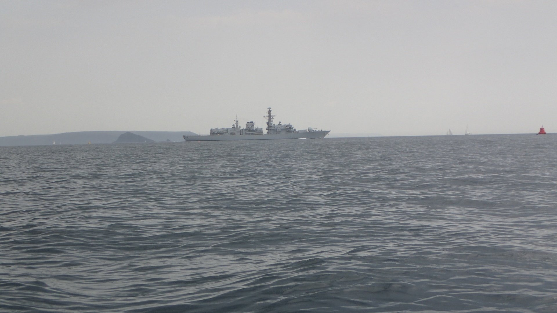 Some other boat in the sound