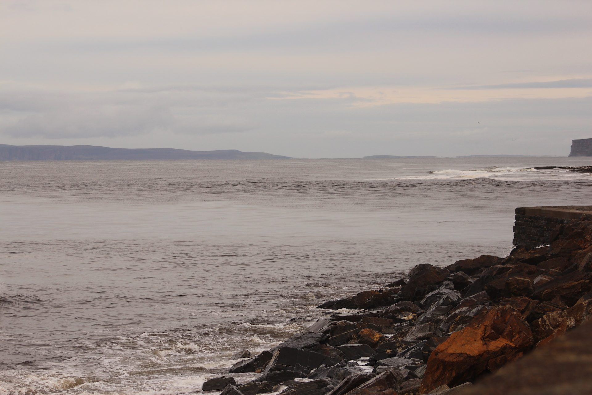 Looking across to Thurso East