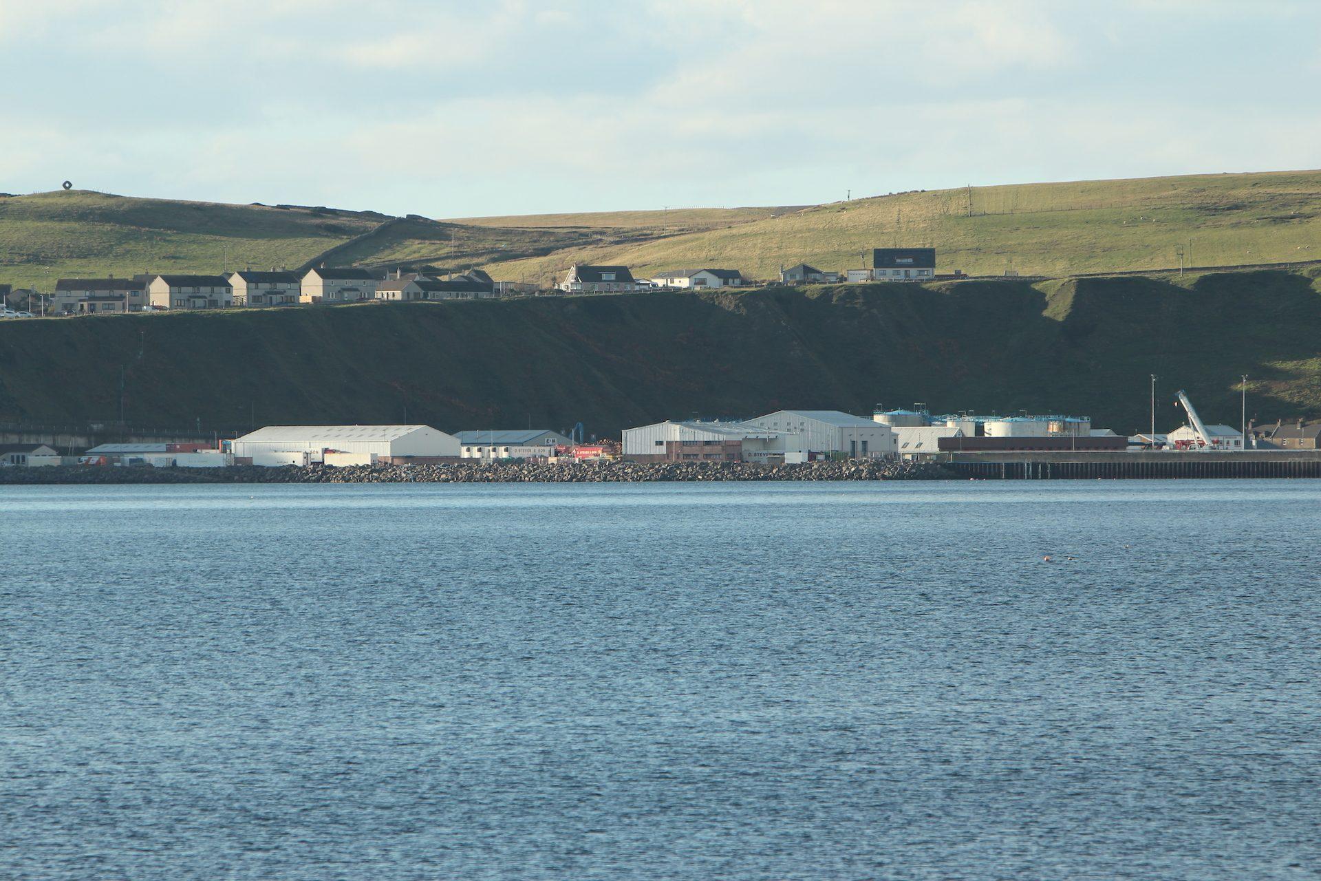 Scrabster harbour (Petes Ultrasonic Lens)