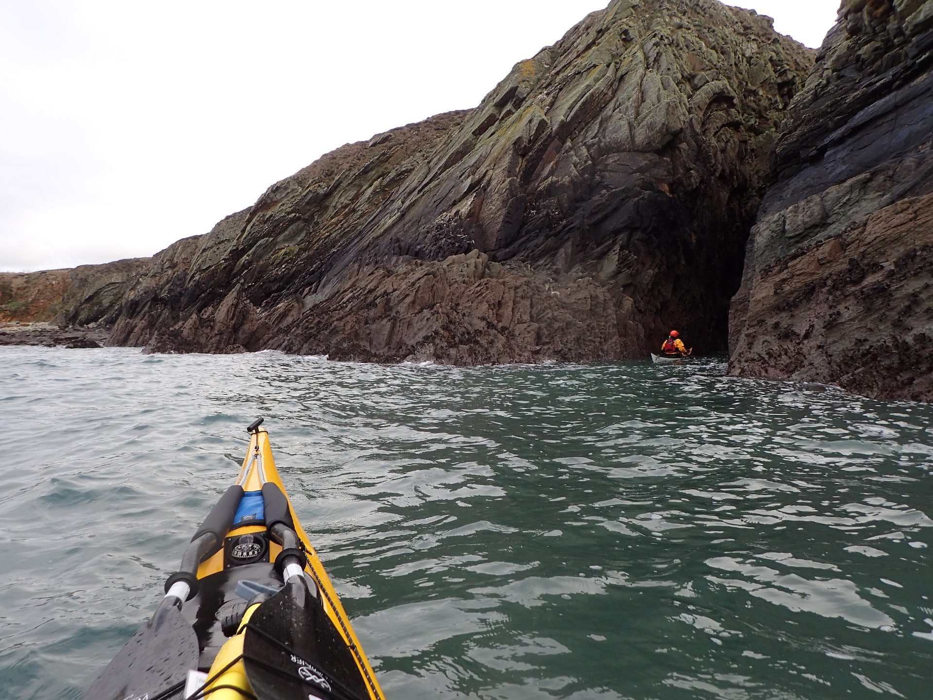 Porth Dafarch to Rhoscolyn and back