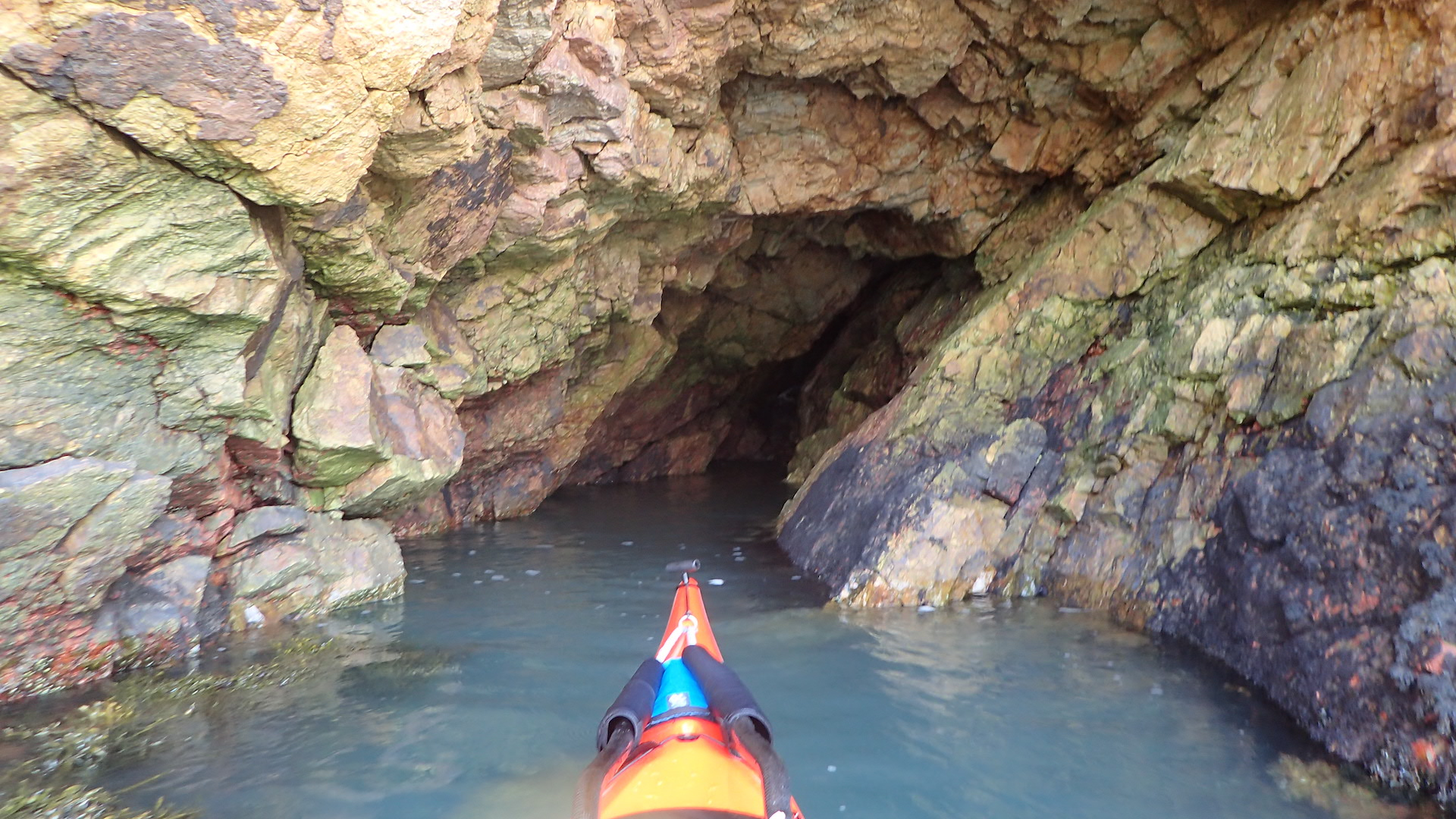 Cemaes Bay - cave