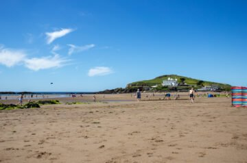 Burgh Island from Bigbury Beach