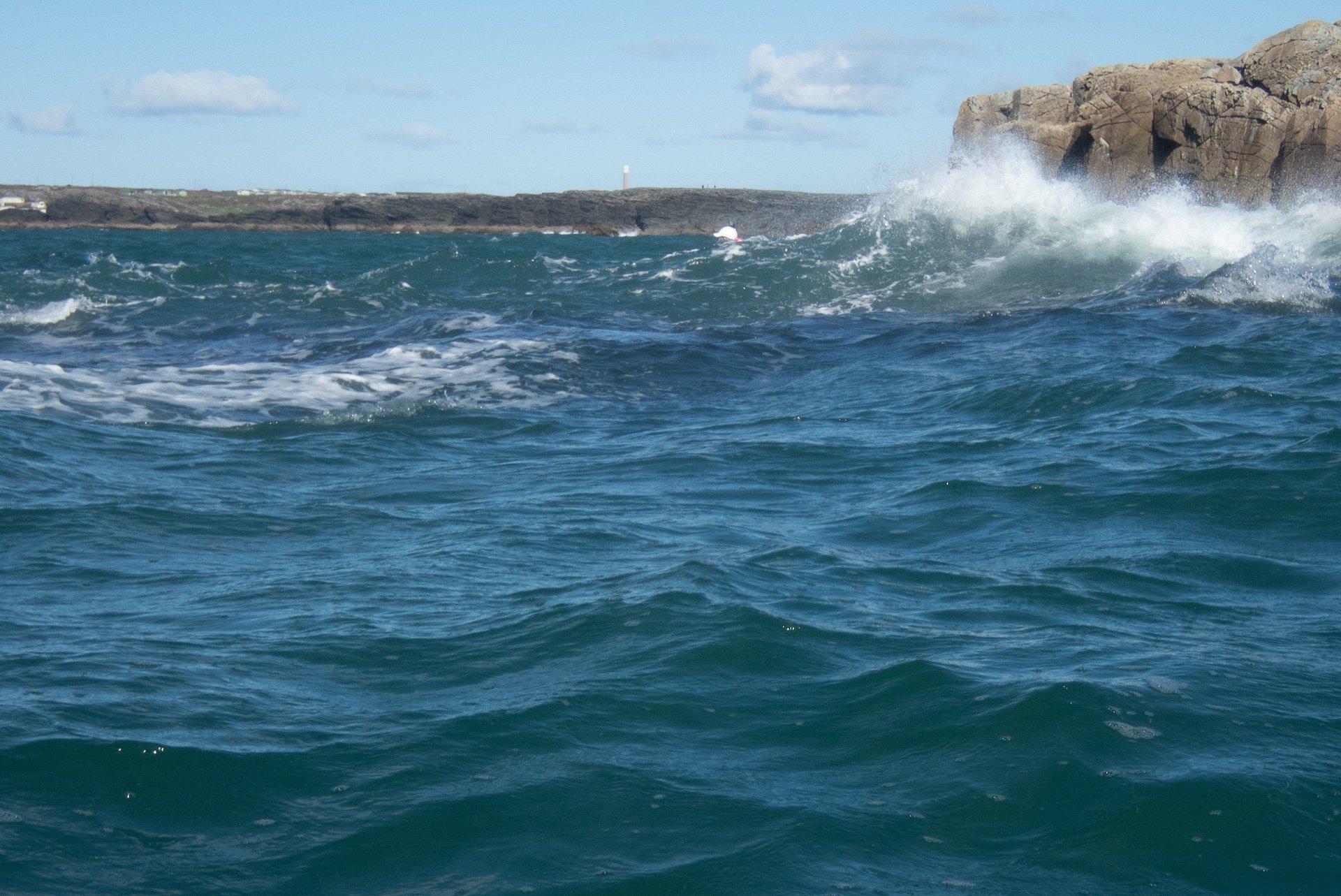 Big wave rock avoidance